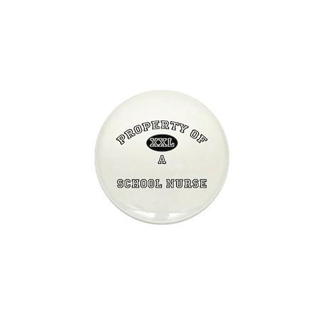 Property of a School Nurse Mini Button (10 pack)