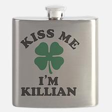 Cute Kiss me Flask