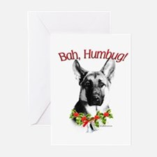 GSD Humbug Greeting Cards (Pk of 10)