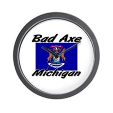 Bad Axe Michigan Wall Clock