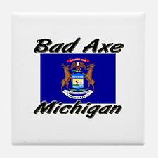 Bad Axe Michigan Tile Coaster