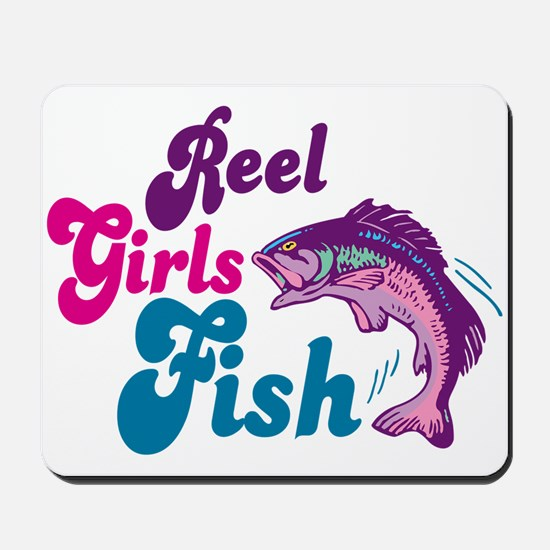 Reel Girls Fish Mousepad