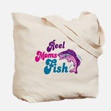 Reel Girls Fish Tote Bag