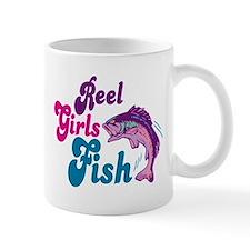 Reel Girls Fish Mug