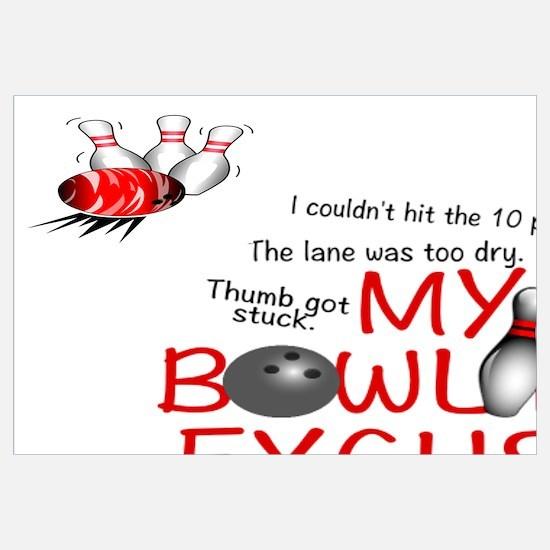 Cool Bowling Wall Art