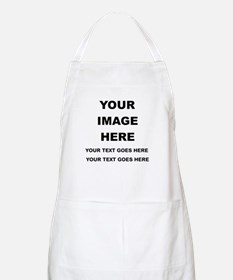 Your Photo and Text Here T Shirt Apron