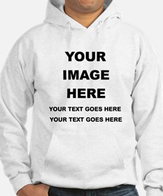 Your Photo and Text Here T Shirt Hoodie