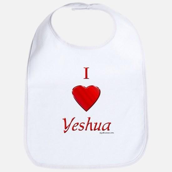 I Love Yeshua Bib