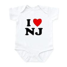 New Jersey Infant Bodysuit