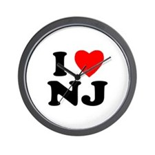 New Jersey Wall Clock