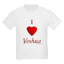 I Love Yeshua Kids T-Shirt
