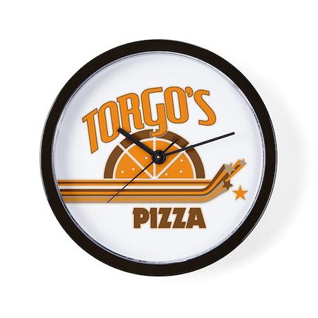Torgo's Pizza Wall Clock