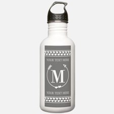 Personalized Monogram Water Bottle