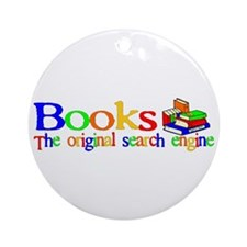 Books The Original Search Engine Ornament (Round)