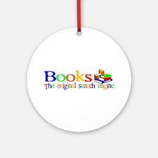 Books The Original Search Engine Ornament (Round)