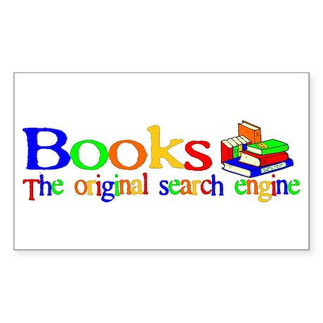 Books The Original Search Engine Sticker (Rectangu