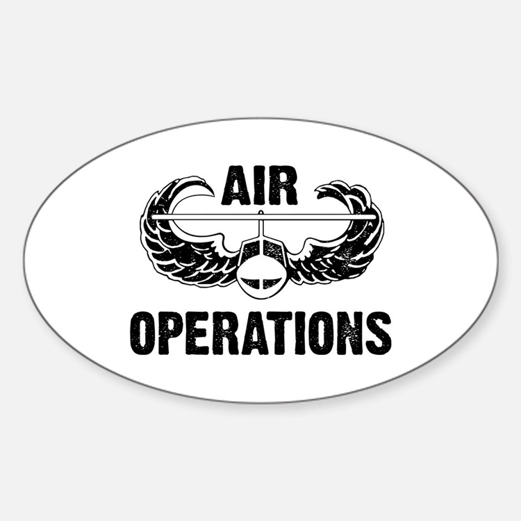 Air Ops Oval Decal