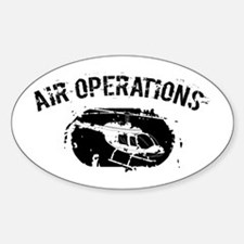 Air Operations Oval Decal