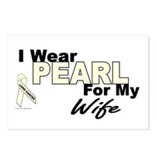 I Wear Pearl 3 (Wife LC) Postcards (Package of 8)