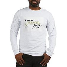 I Wear Pearl 3 (Wife LC) Long Sleeve T-Shirt