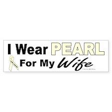 I Wear Pearl 3 (Wife LC) Bumper Bumper Sticker