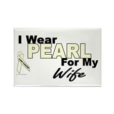 I Wear Pearl 3 (Wife LC) Rectangle Magnet