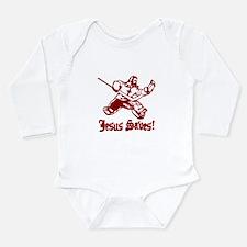 Unique Jesus Long Sleeve Infant Bodysuit