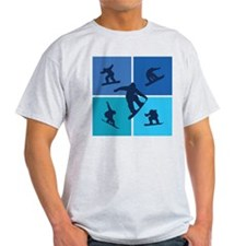 Unique Snowboarder T-Shirt