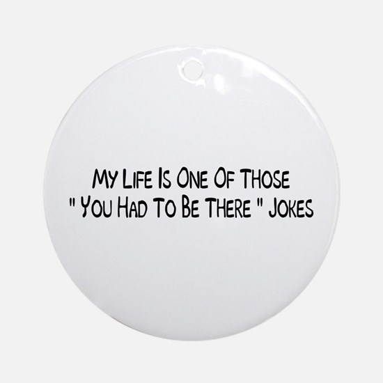 Jokes Ornament (Round)