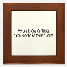 Jokes Framed Tile