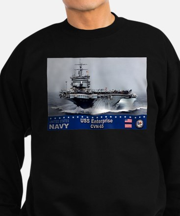 USS Enterprise CVN-65 Sweatshirt
