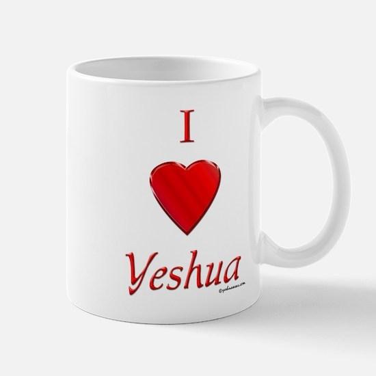 I Love Yeshua Mug