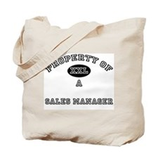 Property of a Sales Manager Tote Bag
