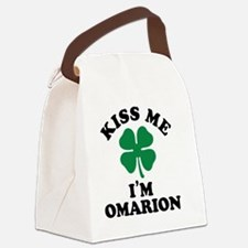 Cute Omarion Canvas Lunch Bag