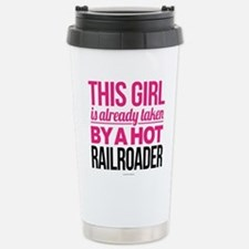 Hot Railroader Stainless Steel Travel Mug