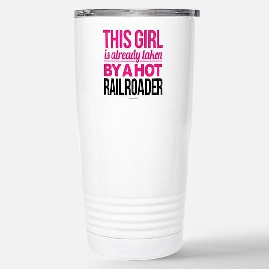 Hot Railroader Stainless Steel Travel Mug