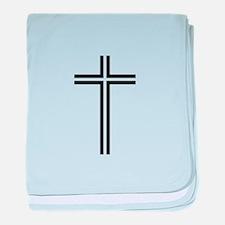 Cross baby blanket