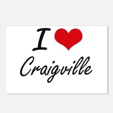 I love Craigville Massach Postcards (Package of 8)