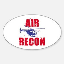 Air Recon Oval Decal