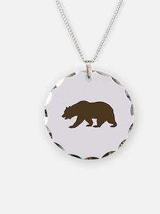 California Bear Necklace