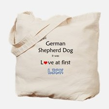 GSD Lick Tote Bag