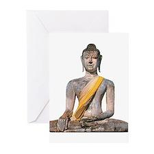 Cute Meditating buddha Greeting Cards (Pk of 20)