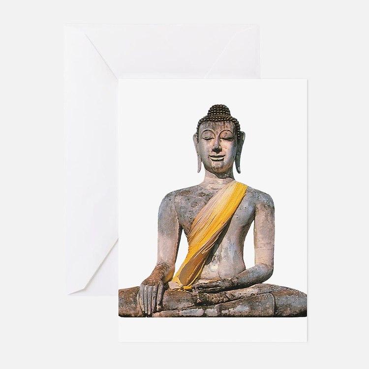 Cute Thai yoga Greeting Cards (Pk of 20)