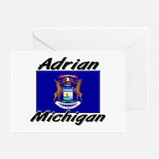 Adrian Michigan Greeting Cards (Pk of 10)