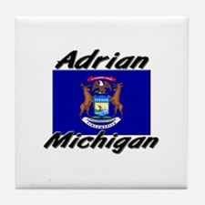 Adrian Michigan Tile Coaster