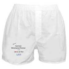 Wirehaired Lick Boxer Shorts