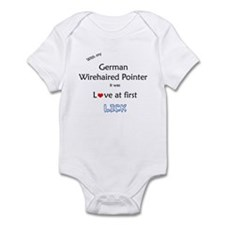 Wirehaired Lick Infant Bodysuit