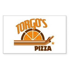 Torgo's Pizza Rectangle Decal