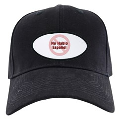 No Hablo Espanol - Red Circle Baseball Hat