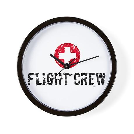 Flight Crew SM Wall Clock